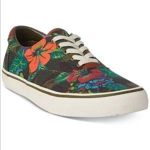 Polo Ralph Lauren men Floral Thompson Sneaker shoe